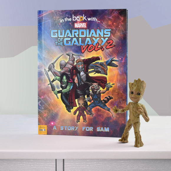 Guardians of the Galaxy 2 Personalised Marvel Story Book-Poppy Stop-Guardians of the Galaxy 2 - Softback-Poppy Stop