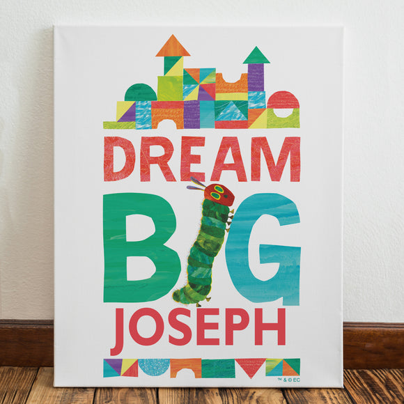 Very Hungry Caterpillar Dream Big Canvas