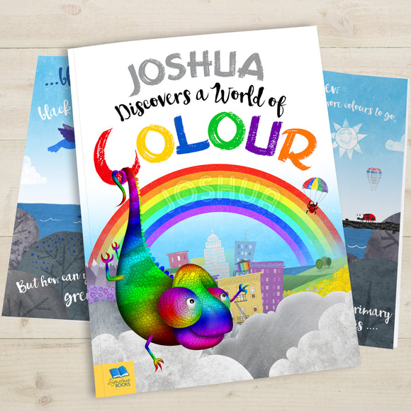 World of Colour Personalised Book-Poppy Stop-World of Colour - Softback-Poppy Stop