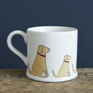 YELLOW LABRADOR LAB MUG - SWEET WILLIAM DESIGNS-Poppy Stop-Poppy Stop