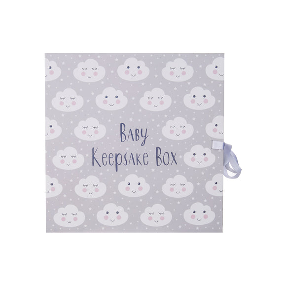 SWEET DREAMS CLOUD KEEPSAKE BOX WITH DRAWERS-Poppy Stop-Poppy Stop