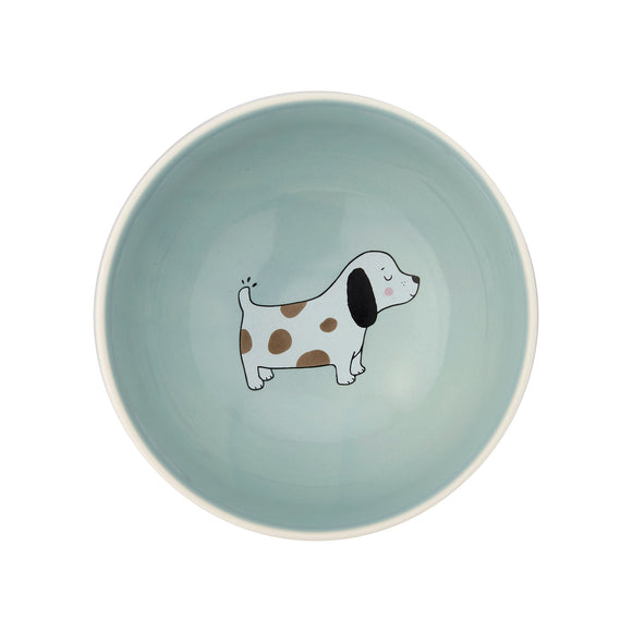 BARNEY THE DOG BOWL-Poppy Stop-Poppy Stop