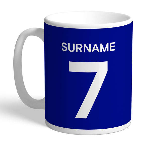 Chelsea FC Player Shirt Mug