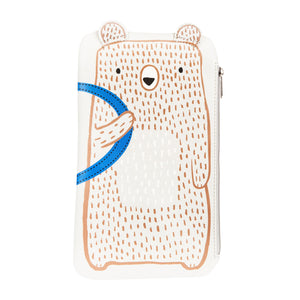 BEAR CAMP PENCIL CASE-Poppy Stop-Poppy Stop