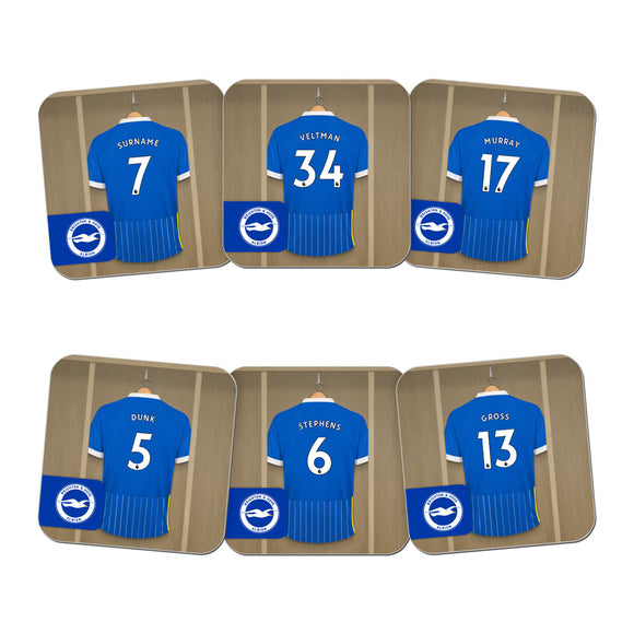 Brighton & Hove Albion FC Dressing Room Coasters