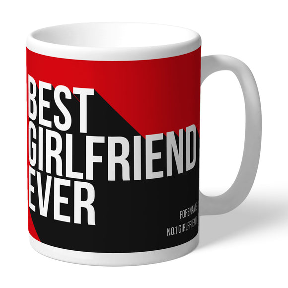 Manchester United FC Best Girlfriend Ever Mug