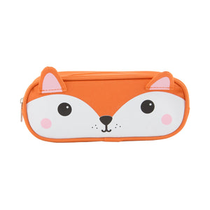 HIRO FOX PENCIL CASE-Poppy Stop-Poppy Stop
