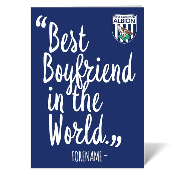 West Bromwich Albion FC Best Boyfriend In The World Card-Poppy Stop-ITP_GC_A4_UK-Poppy Stop
