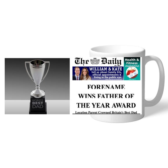The Daily Father Of The Year Mug-Poppy Stop-Poppy Stop