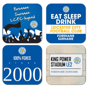 Leicester City FC Coasters-Poppy Stop-Poppy Stop