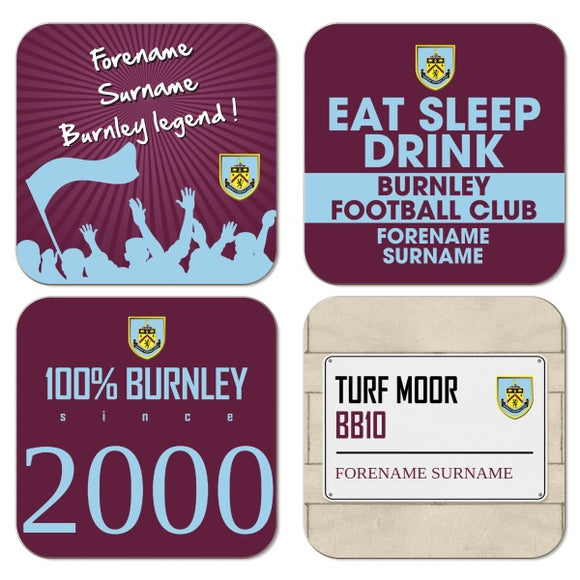 Burnley FC Coasters-Poppy Stop-Poppy Stop