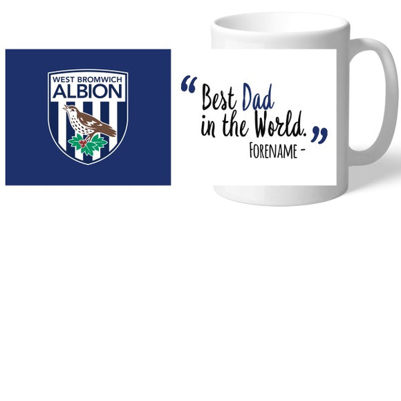 West Bromwich Albion FC Best Dad In The World Mug-Poppy Stop-Poppy Stop