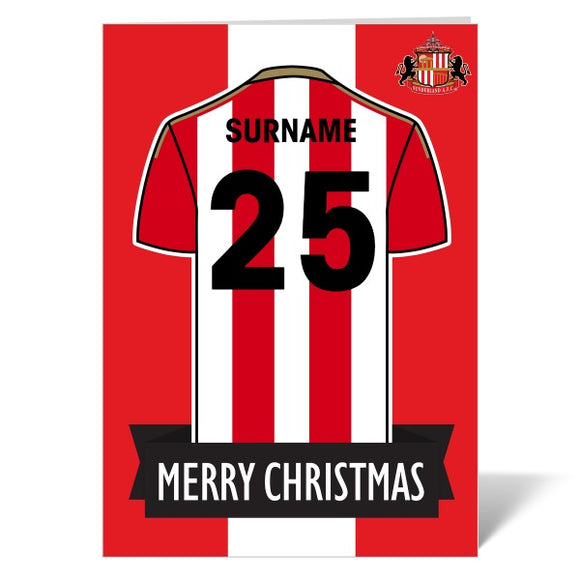 Sunderland AFC Shirt Christmas Card-Poppy Stop-ITP_GC_A4_UK-Poppy Stop