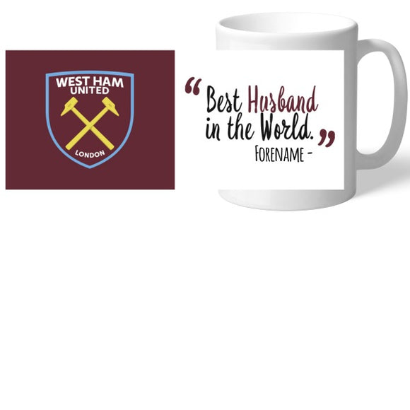 West Ham United FC Best Husband In The World Mug-Poppy Stop-Poppy Stop