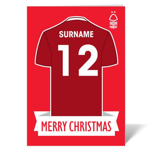 Nottingham Forest FC Shirt Christmas Card-Poppy Stop-ITP_GC_A4_UK-Poppy Stop