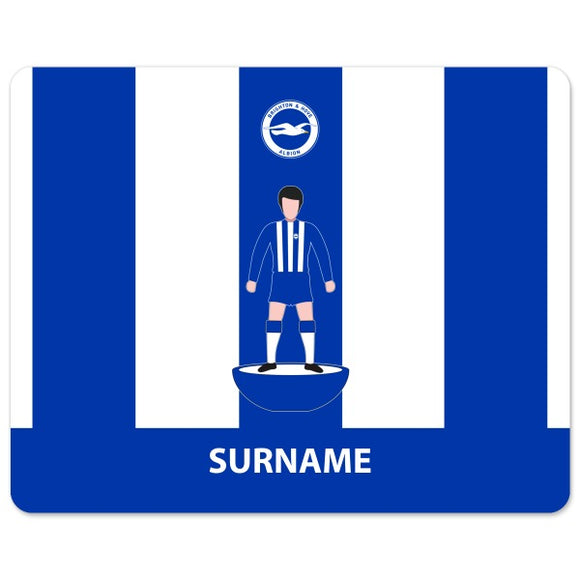 Brighton & Hove Albion FC Player Figure Mouse Mat-Poppy Stop-Poppy Stop