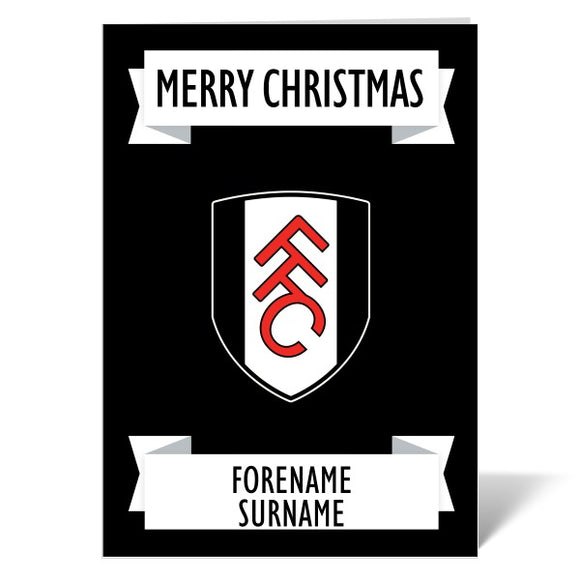 Fulham FC Crest Christmas Card-Poppy Stop-ITP_GC_A5_UK-Poppy Stop