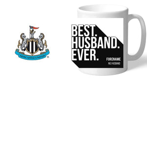 Newcastle United FC Best Husband Ever Mug-Poppy Stop-Poppy Stop