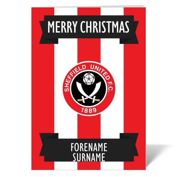 Sheffield United FC Crest Christmas Card-Poppy Stop-ITP_GC_A5_UK-Poppy Stop