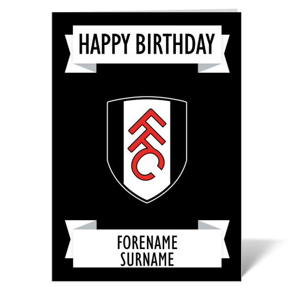 Fulham FC Crest Birthday Card-Poppy Stop-ITP_GC_A5_UK-Poppy Stop