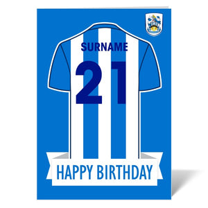 Huddersfield Town Shirt Birthday Card-Poppy Stop-ITP_GC_A4_UK-Poppy Stop