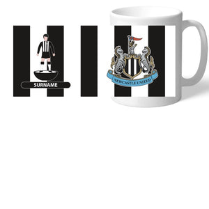 Newcastle United FC Player Figure Mug-Poppy Stop-Poppy Stop
