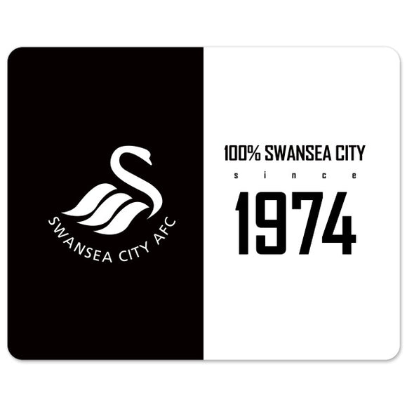 Swansea City AFC 100 Percent Mouse Mat-Poppy Stop-Poppy Stop