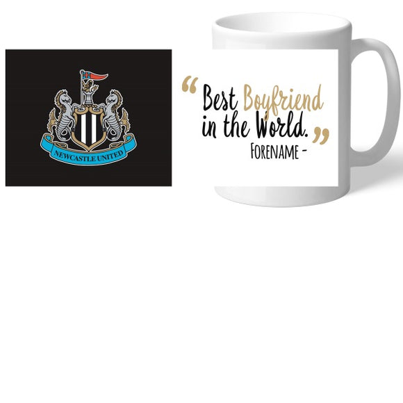 Newcastle United FC Best Boyfriend In The World Mug-Poppy Stop-Poppy Stop