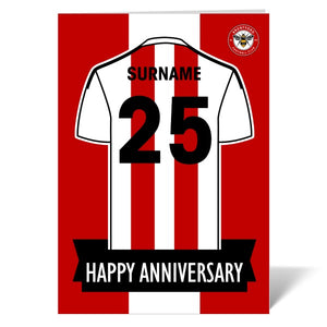 Brentford FC Shirt Anniversary Card-Poppy Stop-ITP_GC_A4_UK-Poppy Stop