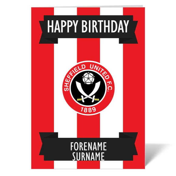 Sheffield United FC Crest Birthday Card-Poppy Stop-ITP_GC_A5_UK-Poppy Stop