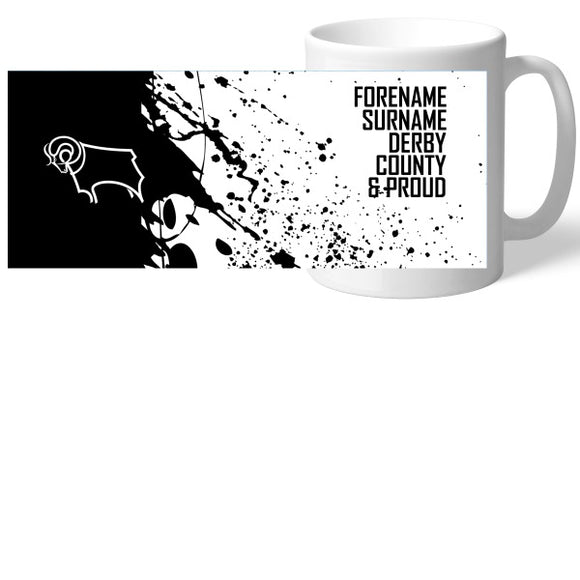 Derby County Proud Mug-Poppy Stop-Poppy Stop