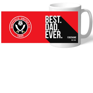 Sheffield United Best Dad Ever Mug-Poppy Stop-Poppy Stop