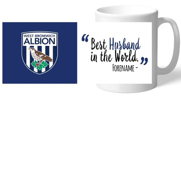 West Bromwich Albion FC Best Husband In The World Mug-Poppy Stop-Poppy Stop