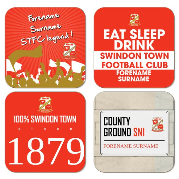 Swindon Town Coasters-Poppy Stop-Poppy Stop
