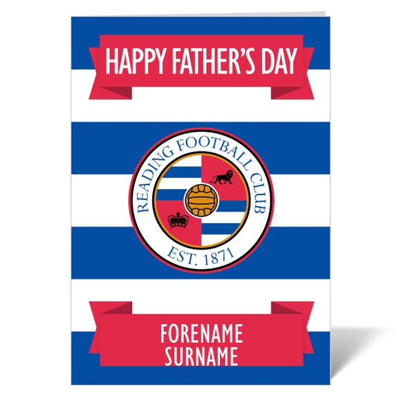 Reading FC Crest Father's Day Card-Poppy Stop-ITP_GC_A4_UK-Poppy Stop