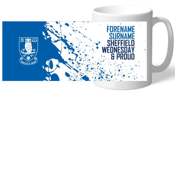 Sheffield Wednesday FC Proud Mug-Poppy Stop-Poppy Stop
