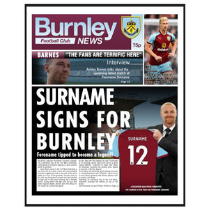 Burnley FC News Folder-Poppy Stop-Poppy Stop