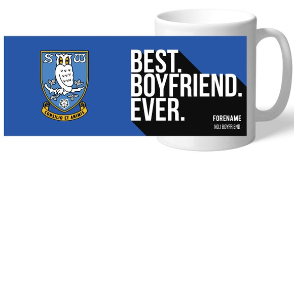 Sheffield Wednesday Best Boyfriend Ever Mug-Poppy Stop-Poppy Stop