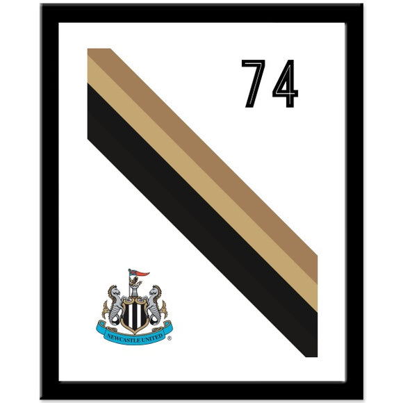 Newcastle United FC Stripe Print-Poppy Stop-Poppy Stop