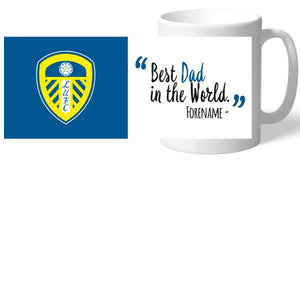 Leeds United Best Dad In The World Mug-Poppy Stop-Poppy Stop