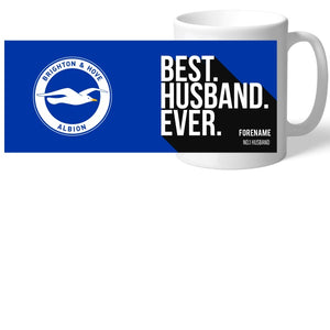 Brighton & Hove Albion FC Best Husband Ever Mug-Poppy Stop-Poppy Stop