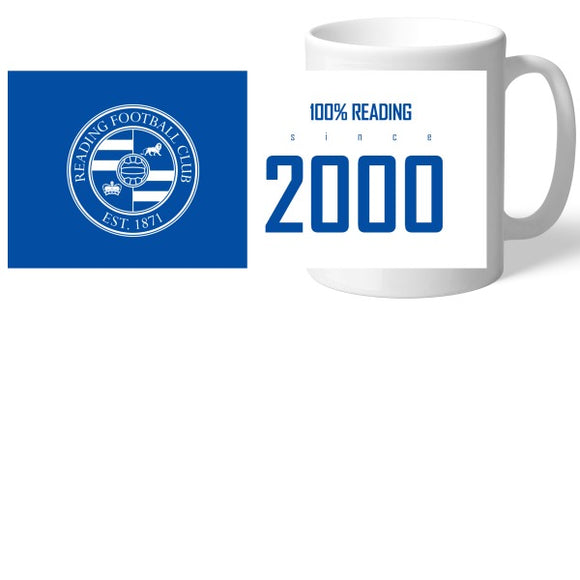 Reading FC 100 Percent Mug-Poppy Stop-Poppy Stop