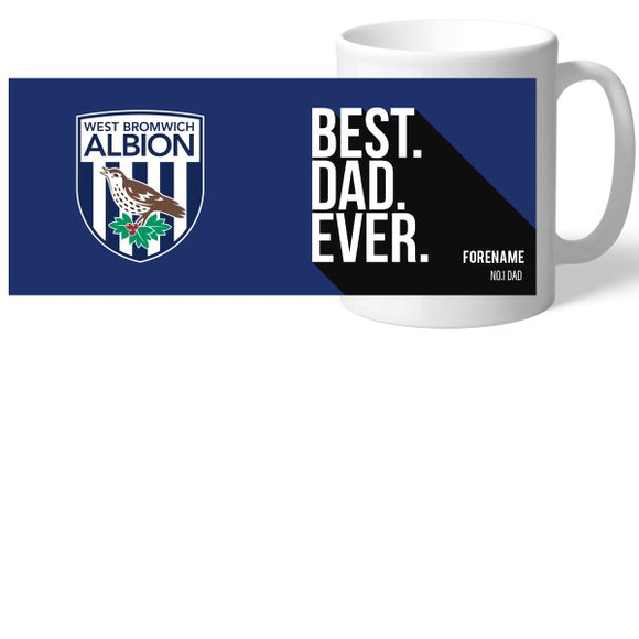 West Bromwich Albion FC Best Dad Ever Mug-Poppy Stop-Poppy Stop
