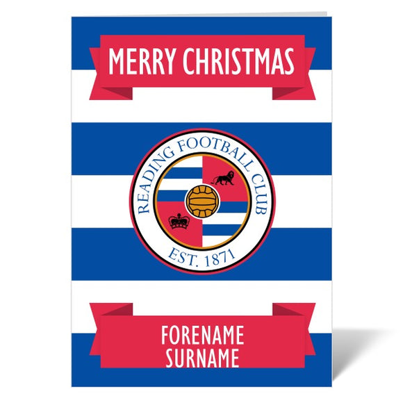 Reading FC Crest Christmas Card-Poppy Stop-ITP_GC_A4_UK-Poppy Stop