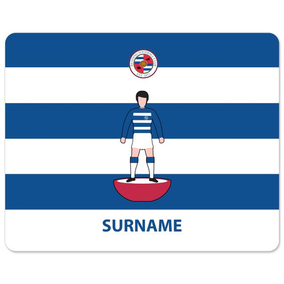 Reading FC Player Figure Mouse Mat-Poppy Stop-Poppy Stop