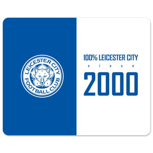 Leicester City FC 100 Percent Mouse Mat-Poppy Stop-Poppy Stop