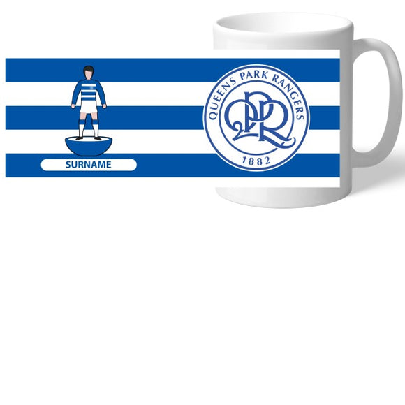 Queens Park Rangers FC Player Figure Mug-Poppy Stop-Poppy Stop