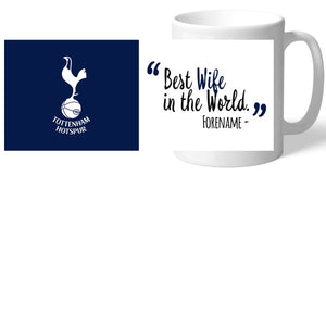 Tottenham Hotspur Best Wife In The World Mug-Poppy Stop-Poppy Stop