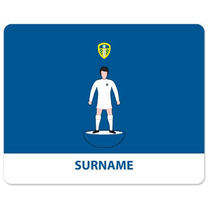 Leeds United FC Player Figure Mouse Mat-Poppy Stop-Poppy Stop