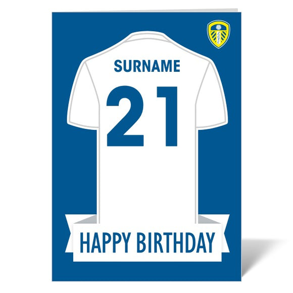Leeds United FC Shirt Birthday Card-Poppy Stop-ITP_GC_A4_UK-Poppy Stop